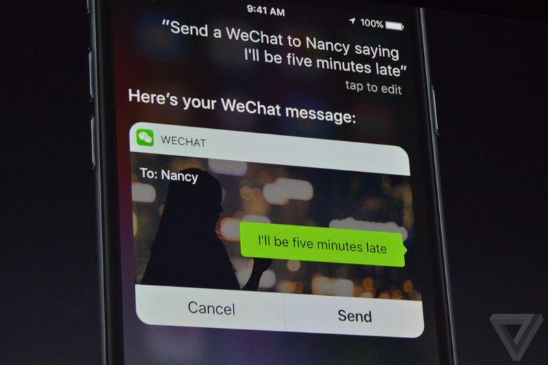 iOS 10 at WWDC16 announcement photos