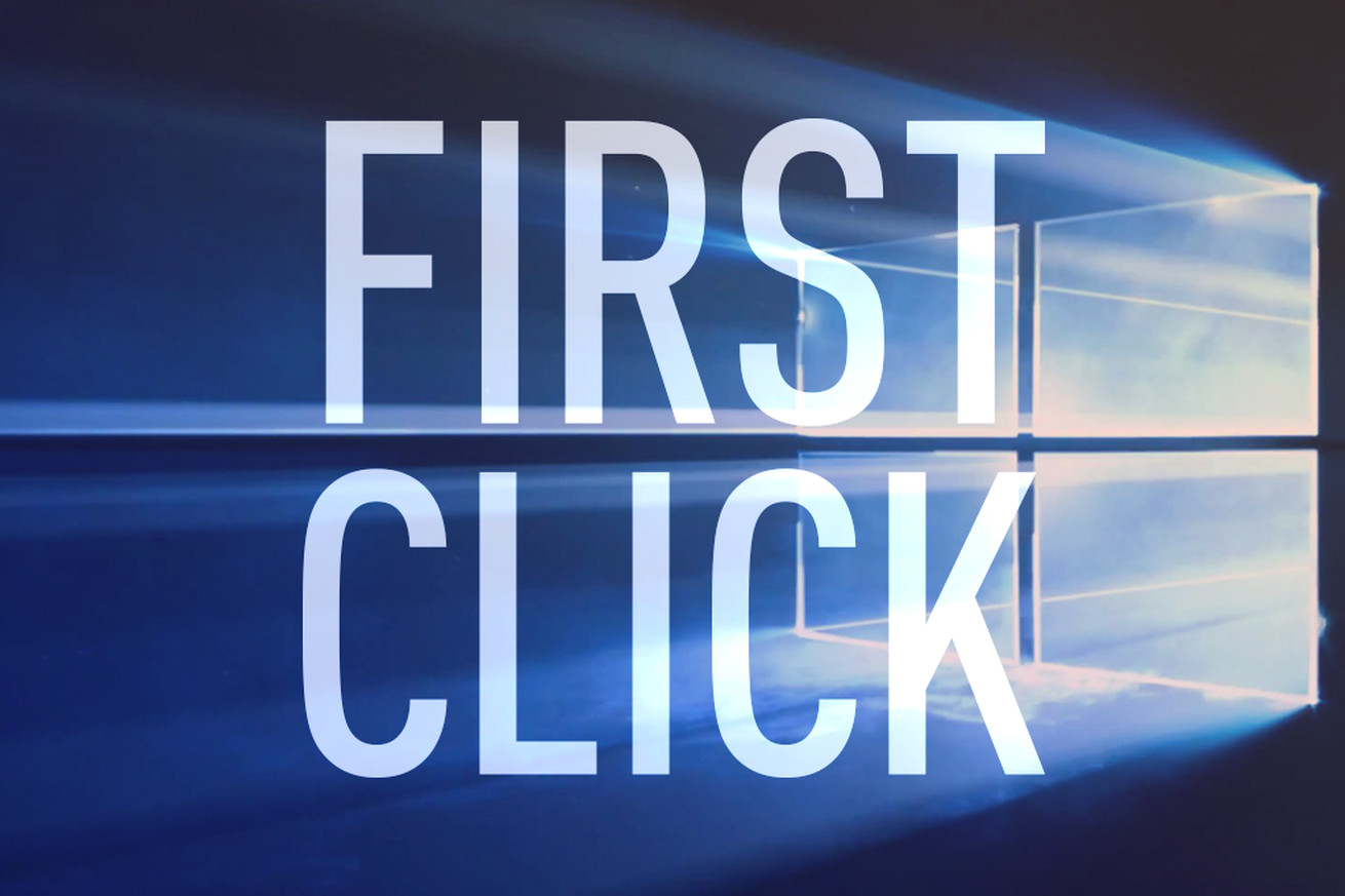 First Click: Windows 10 updates, the best Chromebook, Apple and Google earnings, and more in the week ahead