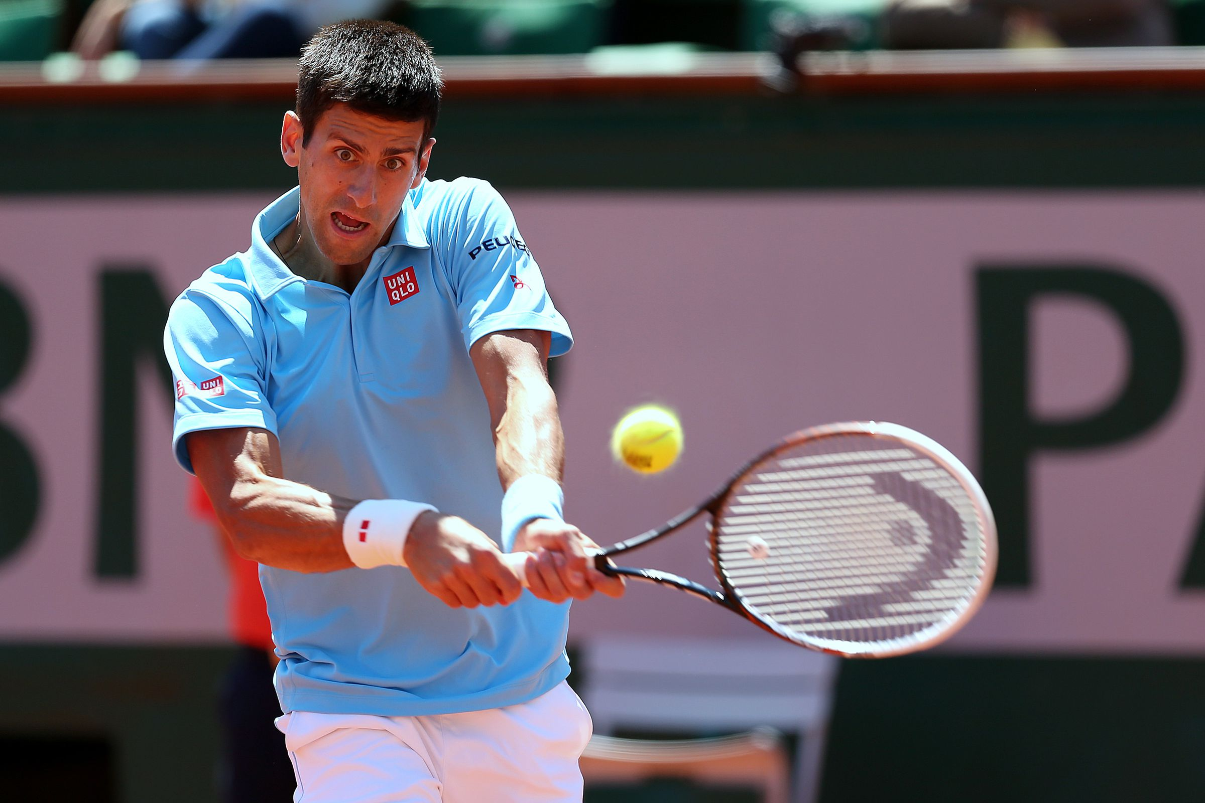 french open 2014 tv schedule and matches for sunday at. Black Bedroom Furniture Sets. Home Design Ideas