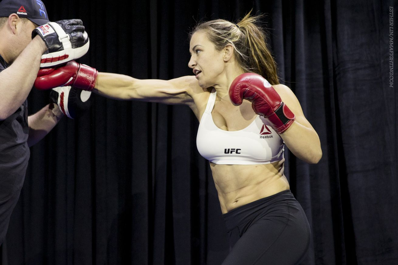 community news, Miesha Tate: Holly Holm has great striking, but maybe a glass chin, too