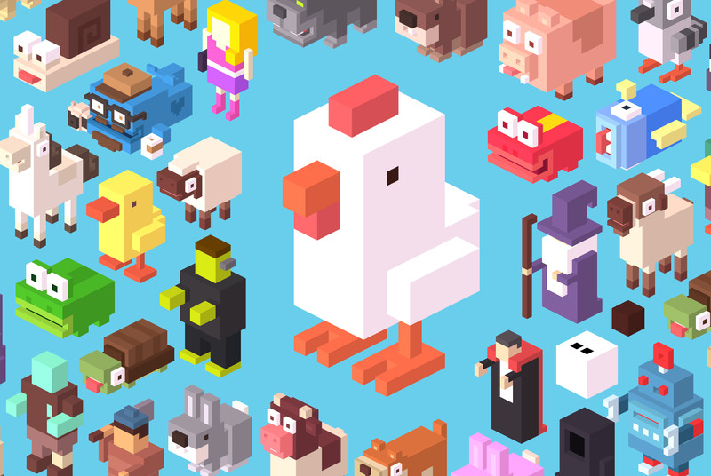 They wanted to make a video game phenomenon, they made $10 million: the story of Crossy Road
