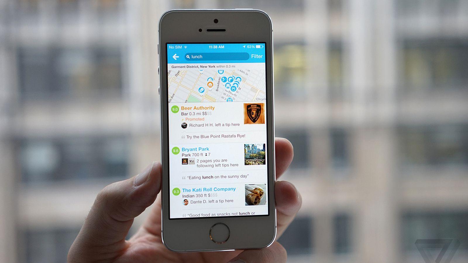 Redes sociales para restaurantes foursquare