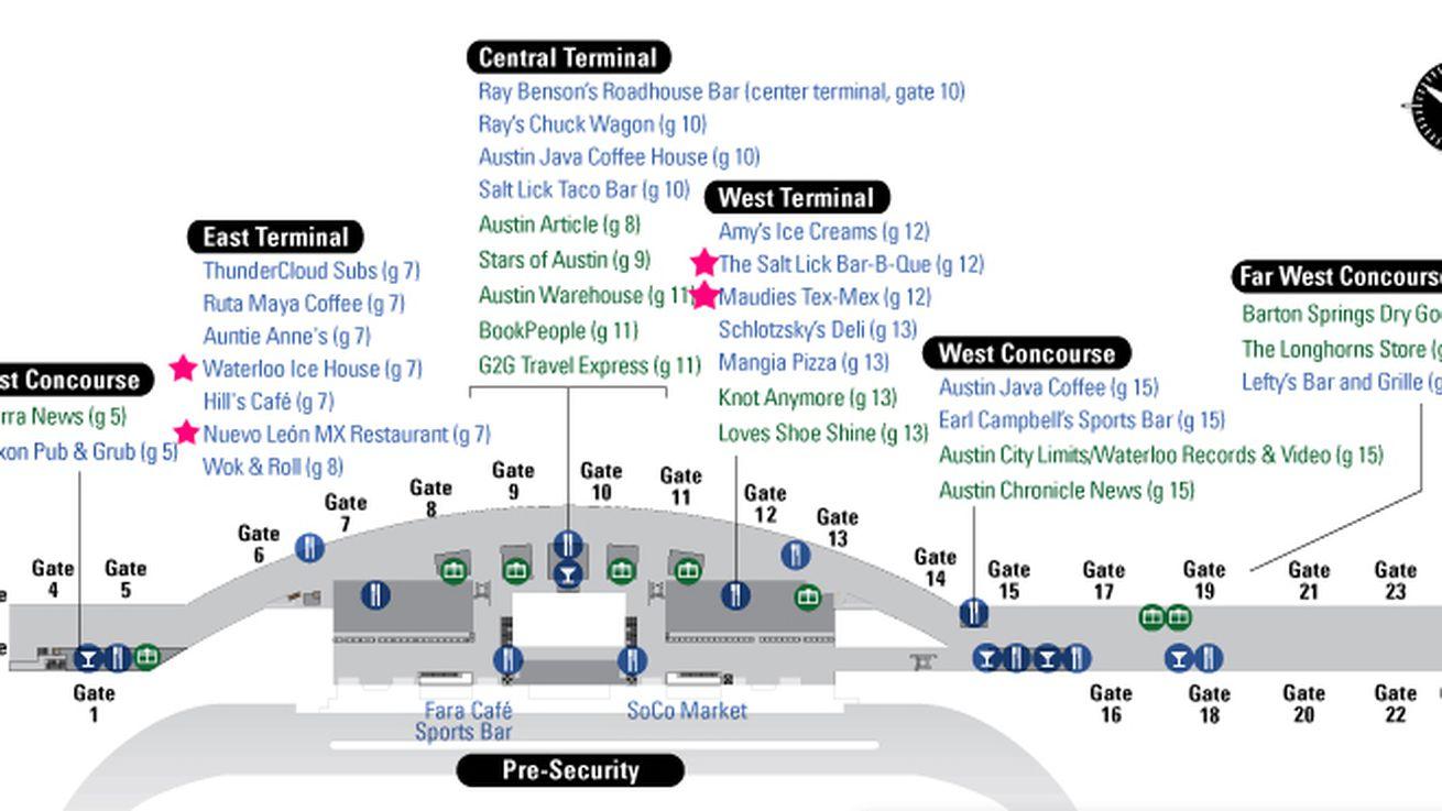 Where To Eat At AustinBergstrom International Airport