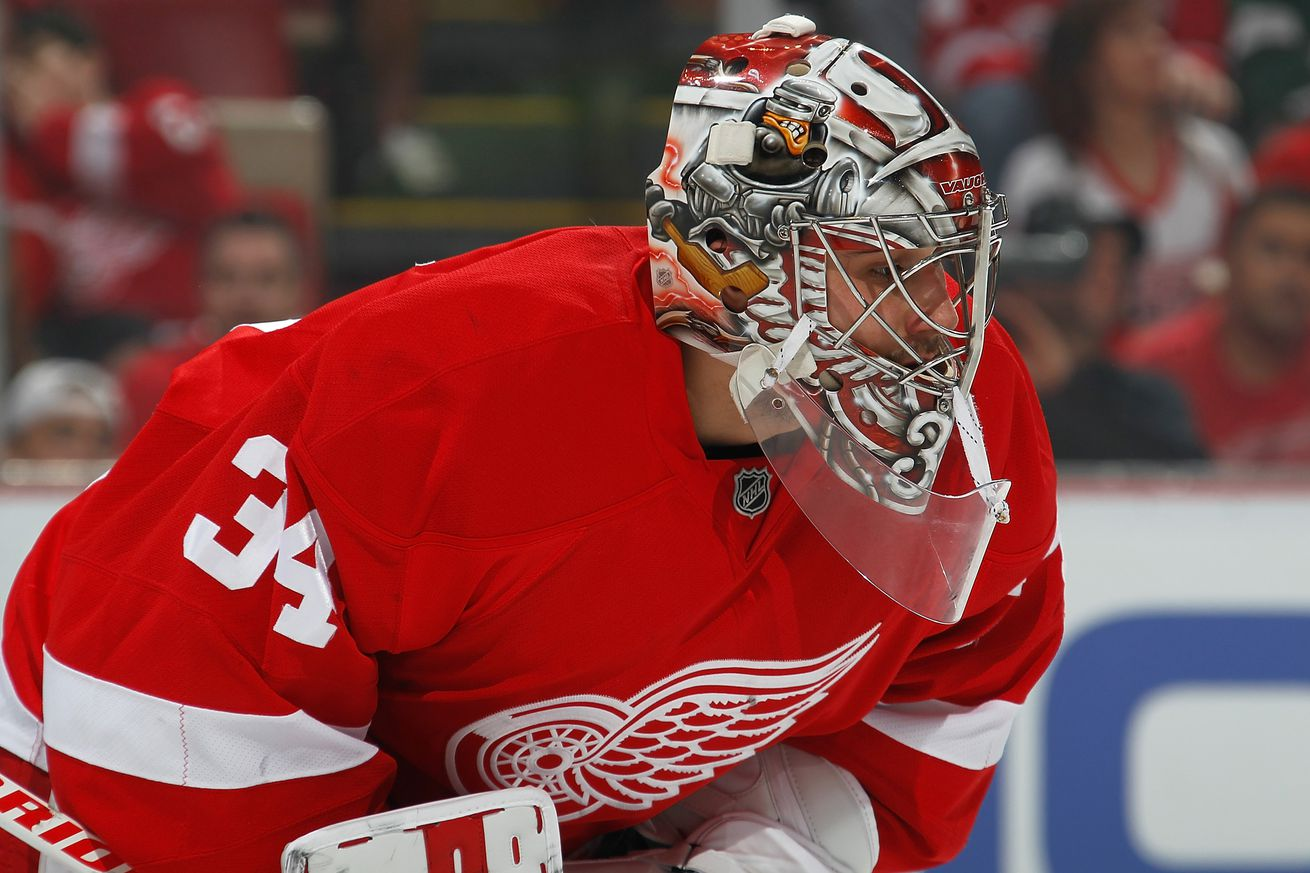Red Wings agree to 2-year, $8M deal with goalie Petr Mrazek