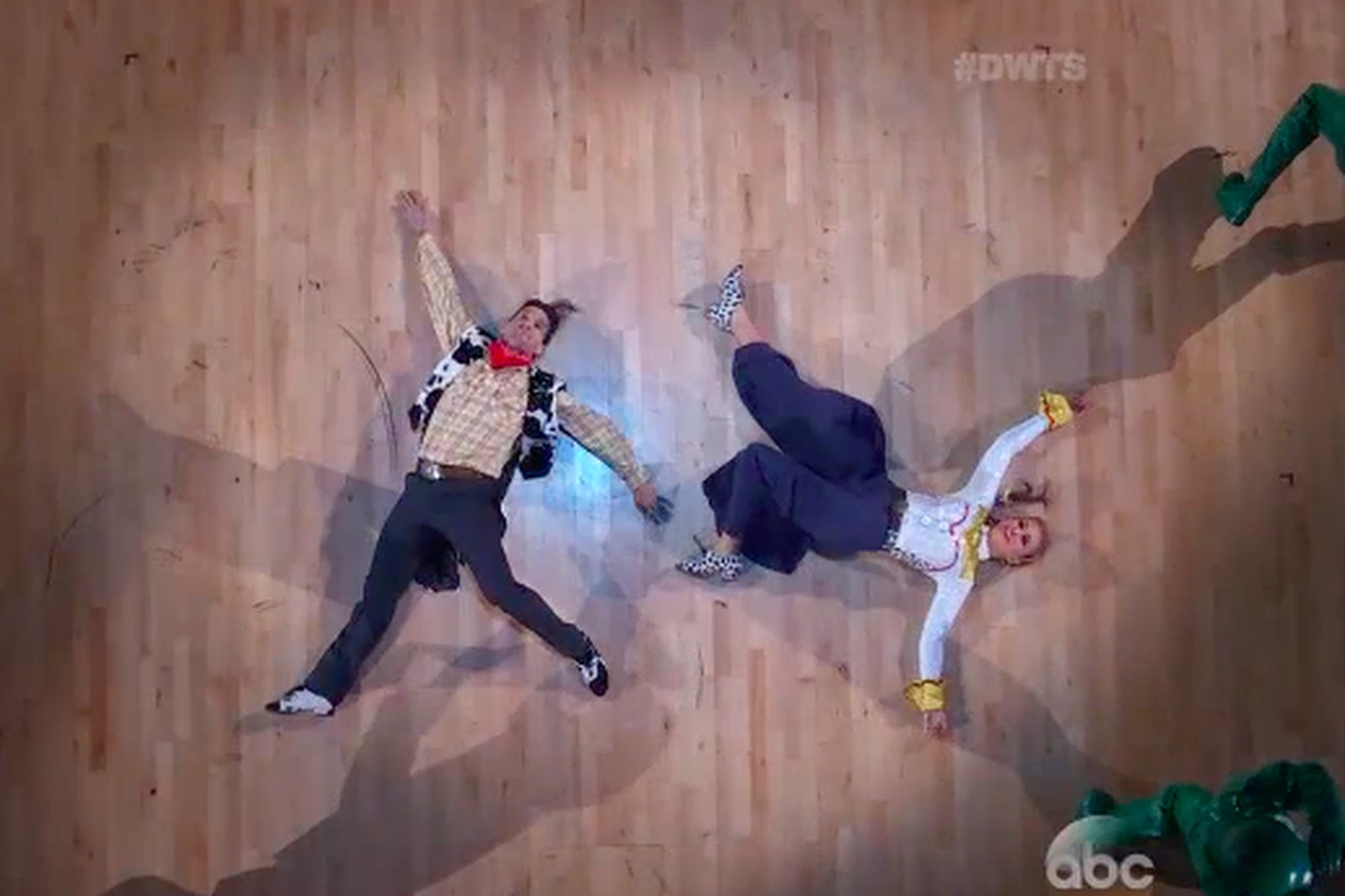 Paige VanZant ties for first with Toy Story rendition on Dancing With The Stars