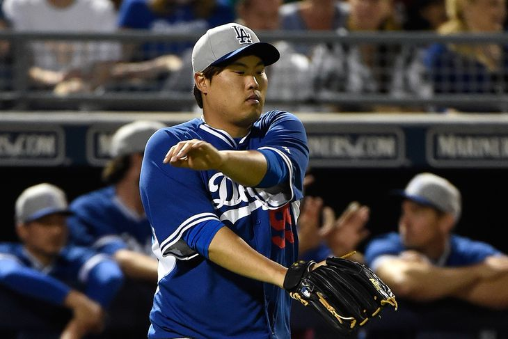 Ryu Hyun Jin Wallpaper Lisa Blumenfeld/getty Images