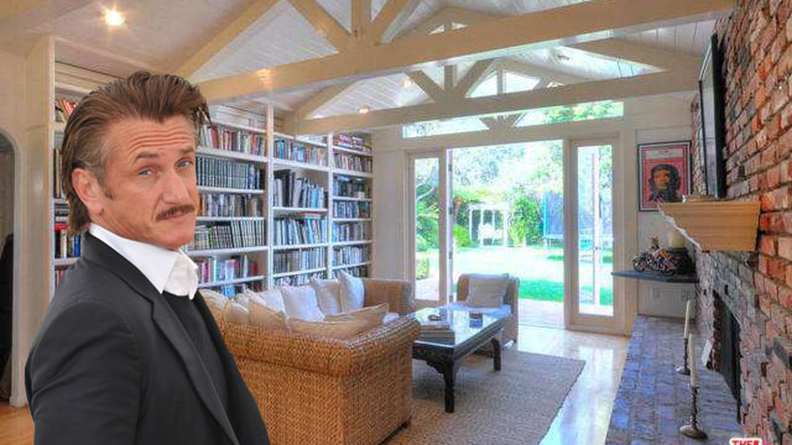 Sean Penn Selling His Secluded Malibu Ranch House For 6