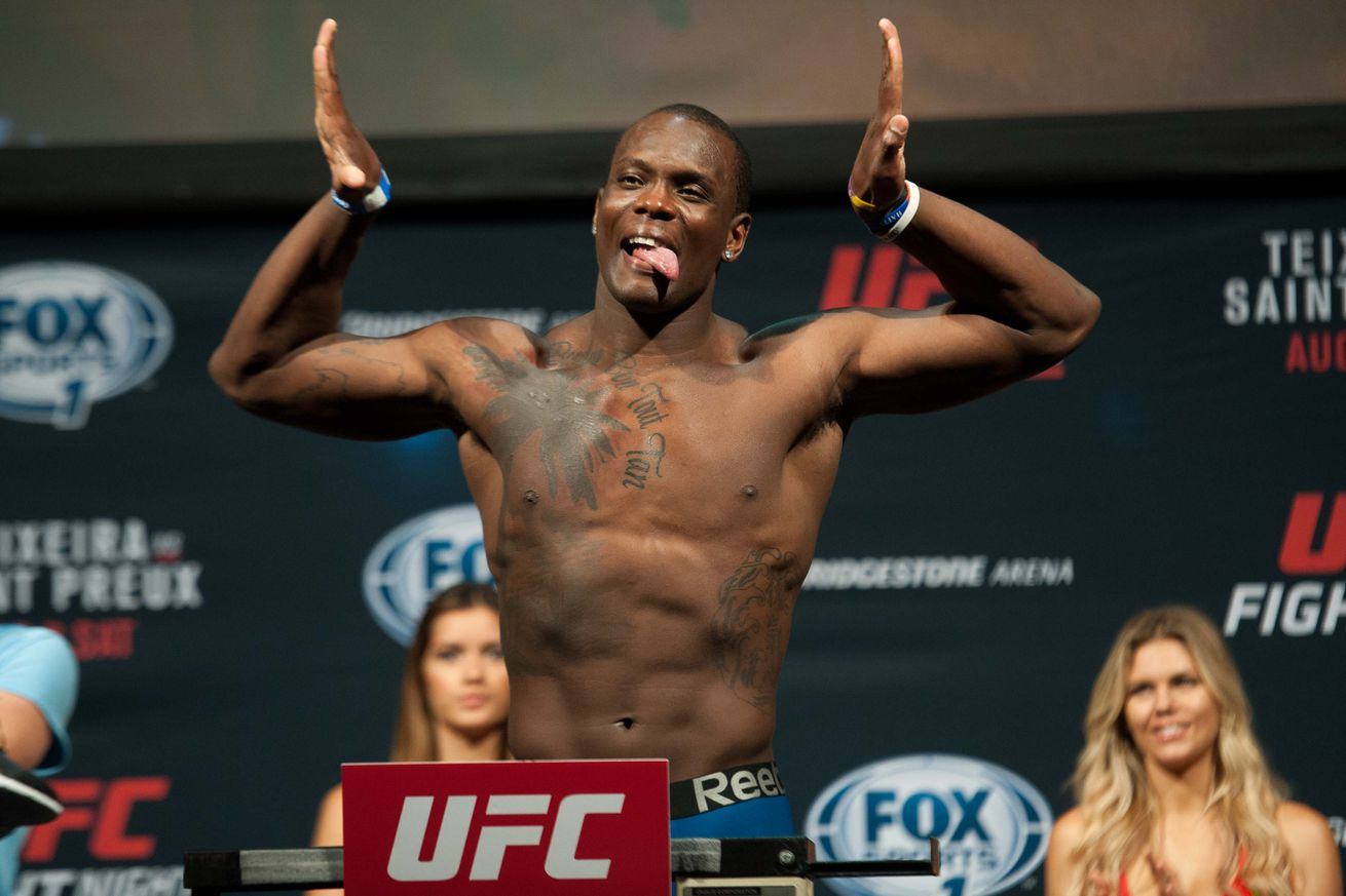 community news, Ovince Saint Preux challenges UFC heavyweights since guys in his division are scared to fight him