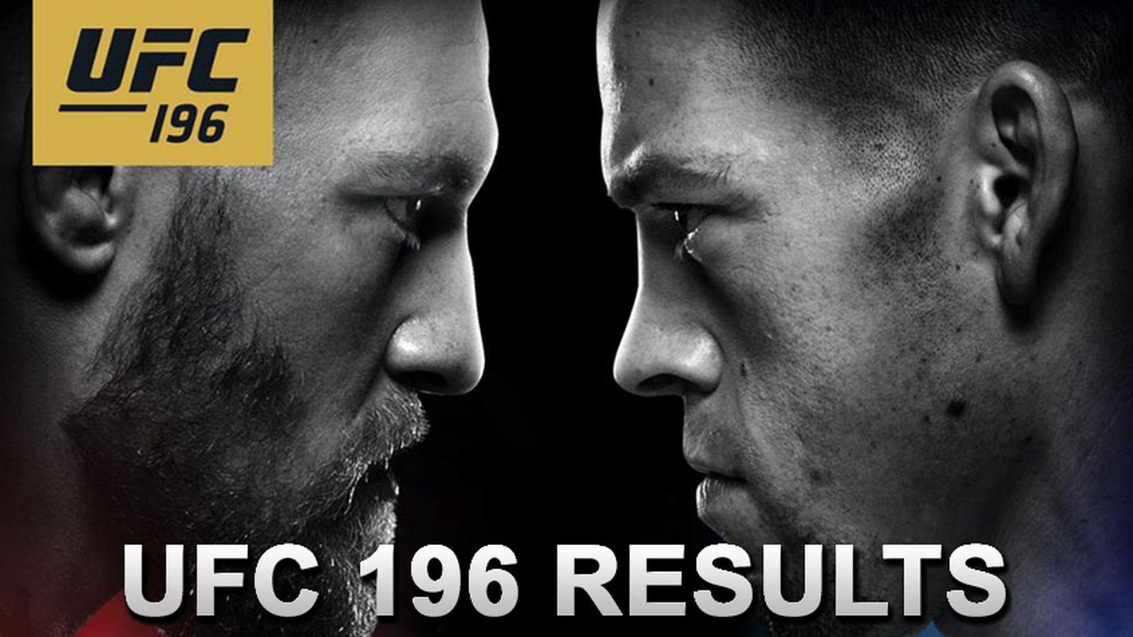 Nascar Live Stream Free >> UFC 196 live stream results: 'McGregor vs Diaz' play-by ...