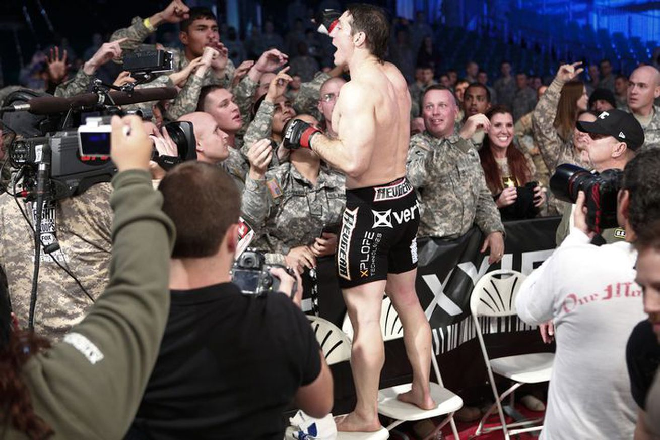 community news, Fourth installment of UFCs Fight for the Troops scheduled to return in 2016