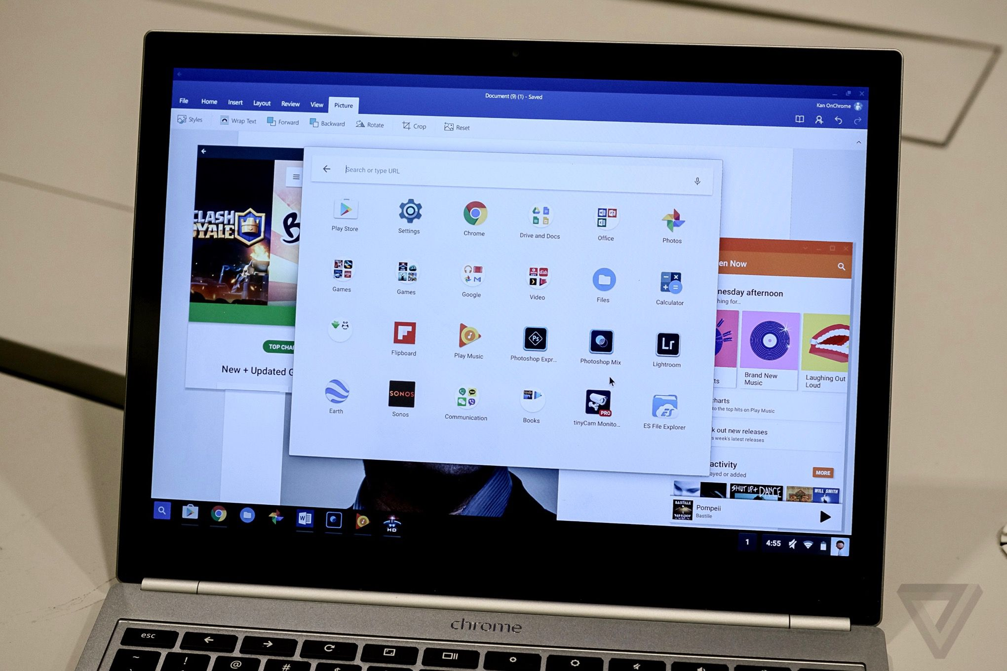 Play Store on Chrome OS in the Fall