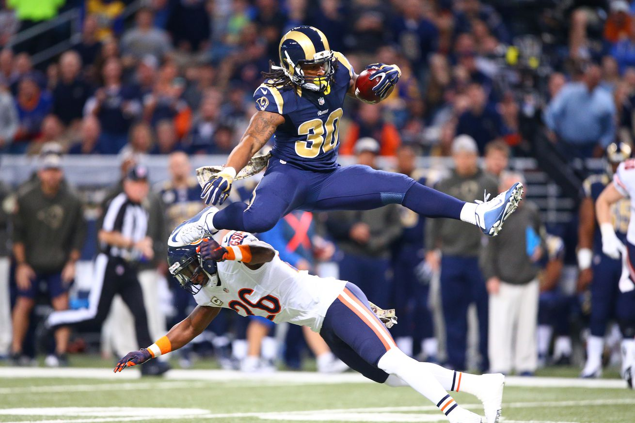 Todd Gurley S Historic Debut Season Ends With Offensive