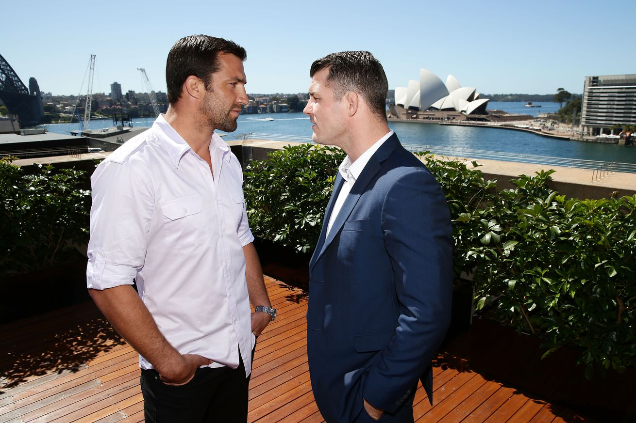 Luke Rockhold says that UFC 199 will be Michael Bisping's 'swansong'