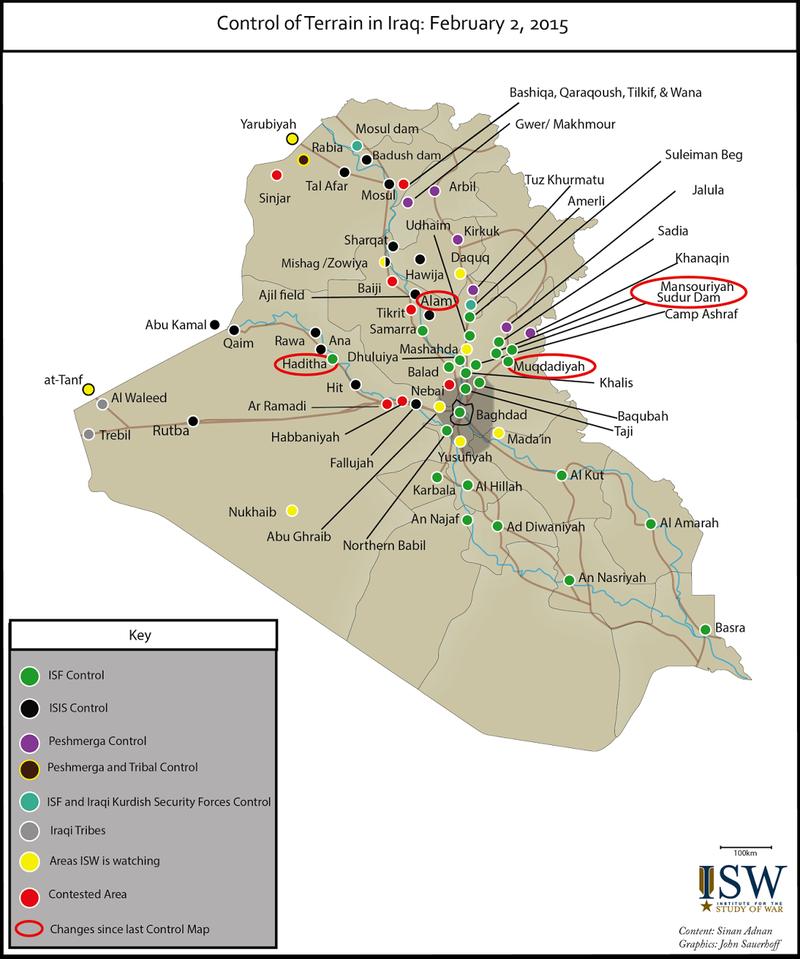 ISW iraq february 2015