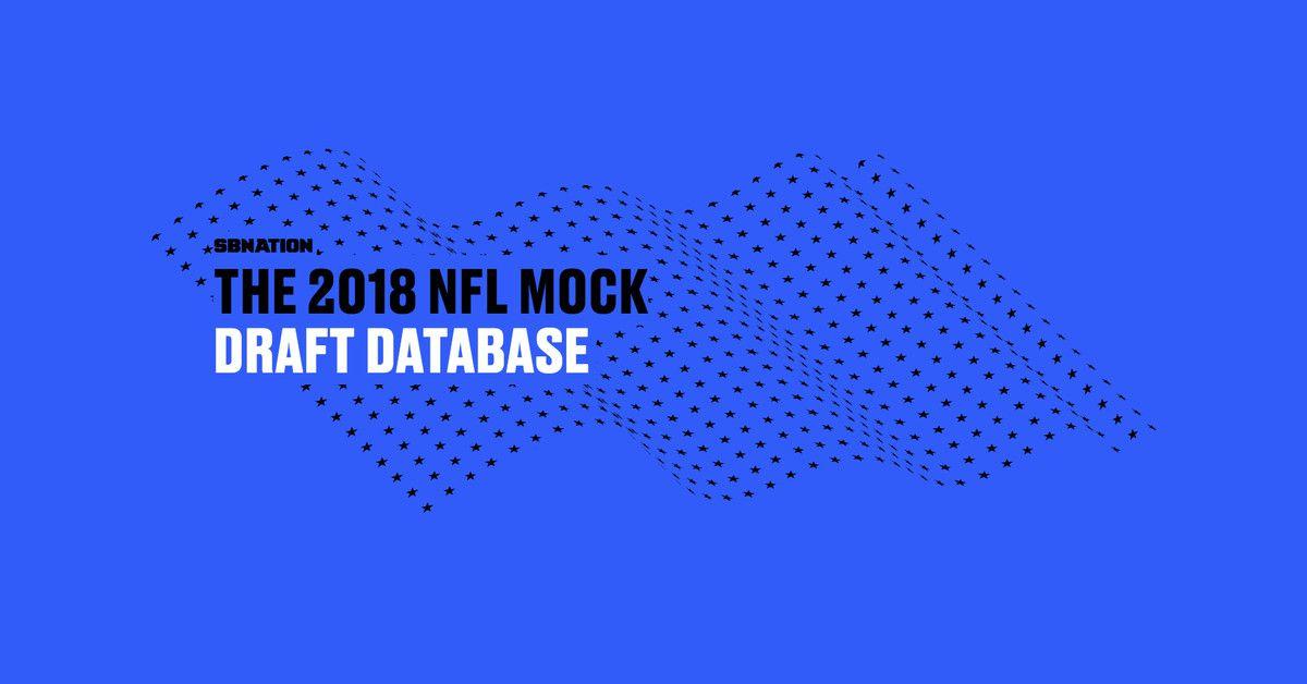 2018年NFL模拟草案数据库