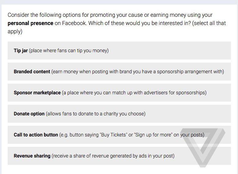 Facebook posts may soon earn you money