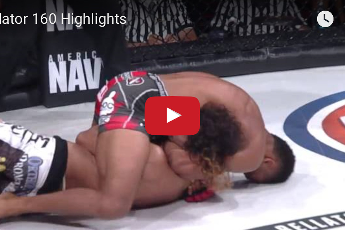 community news, Bellator 160 highlights: Watch Patricio Freire injure his knee, put a stop to main event against Ben Henderson