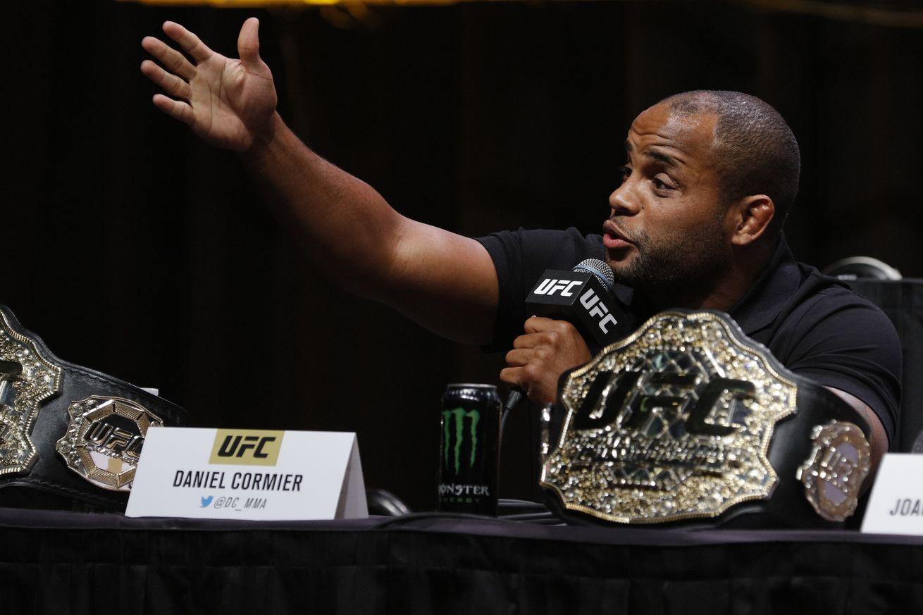 Daniel Cormier offers to train Ovince Saint Preux for Jon Jones interim title fight at UFC 197