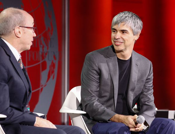 Alphabet/Google chief Larry Page.