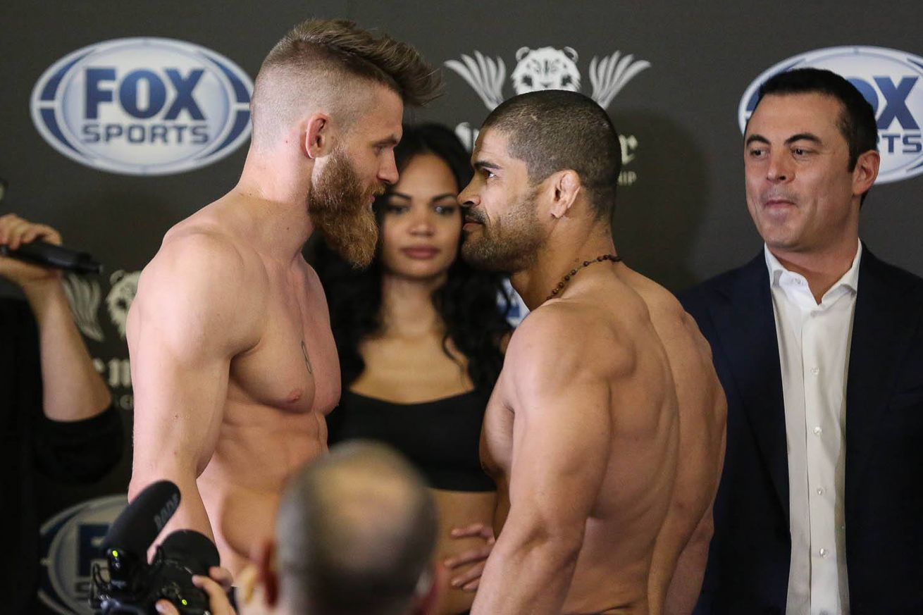community news, Rousimar Palhares complains about illegal strikes in quick knockout loss