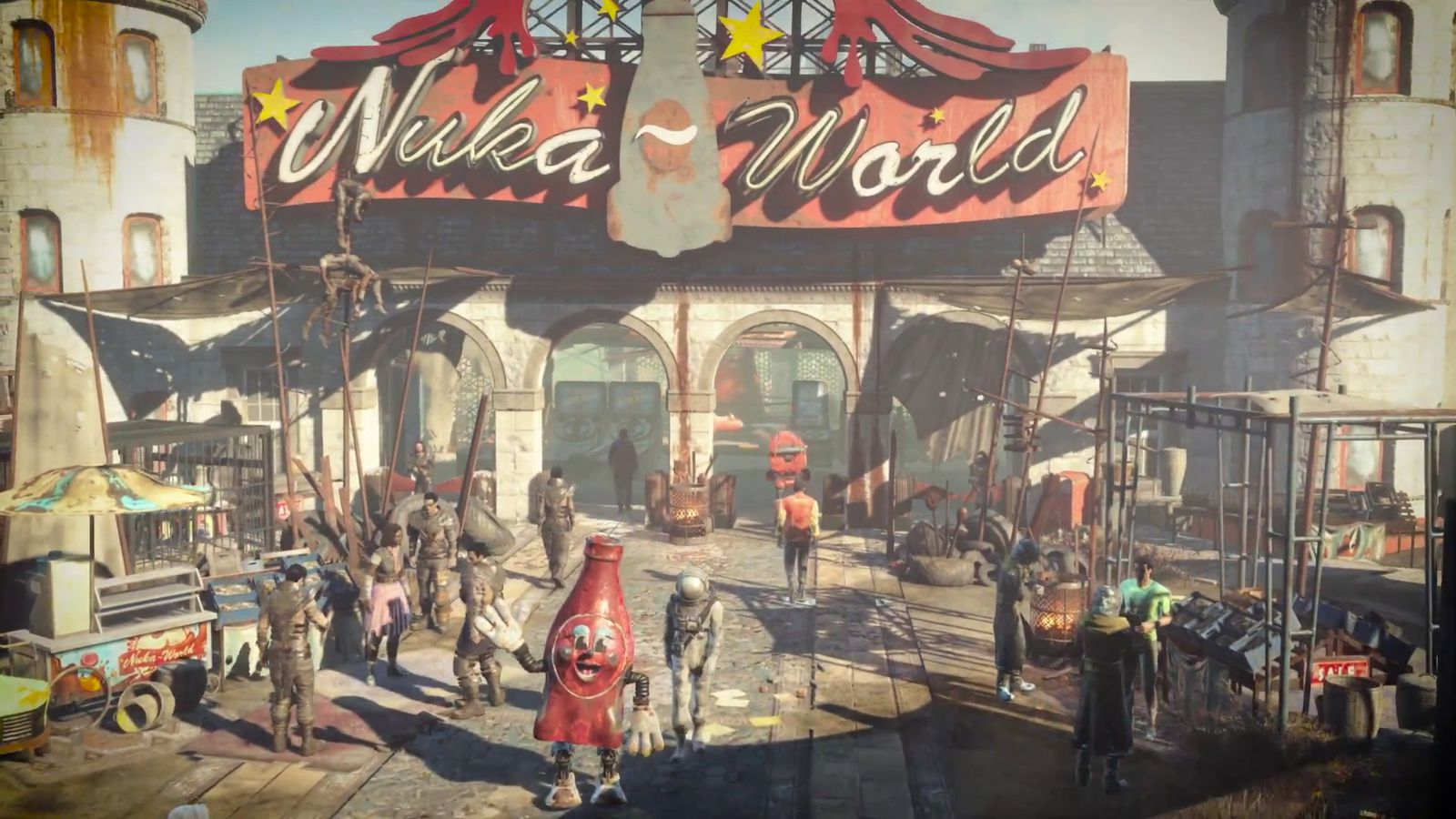 Fallout 4's next three DLC packs revealed at E3 (update