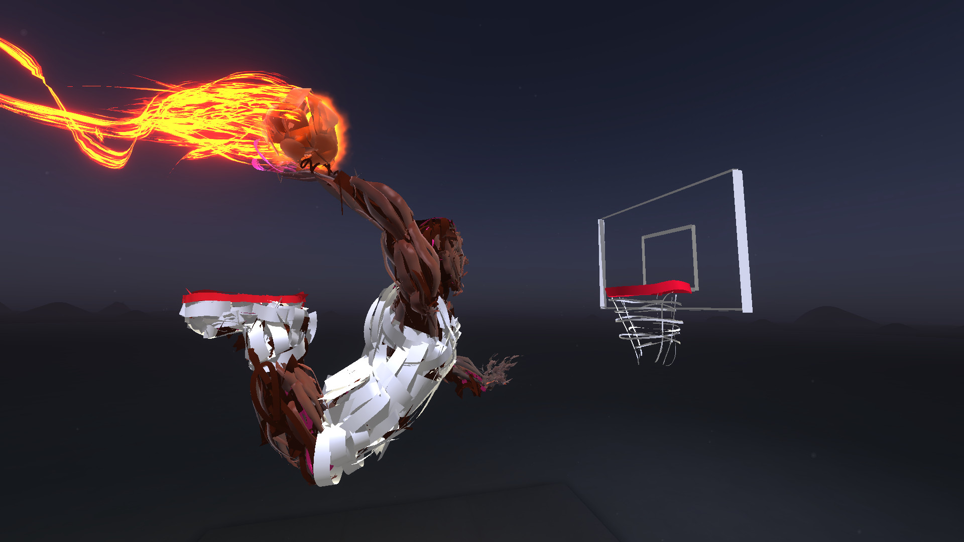 Watched nba players paint in vr to promote mountain dew the verge