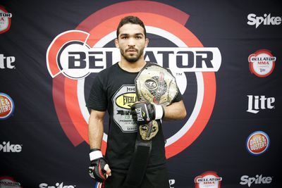 Bellator champ Patricio Freire has mixed feelings about main event slot for Kimbo Slice vs. Ken Shamrock