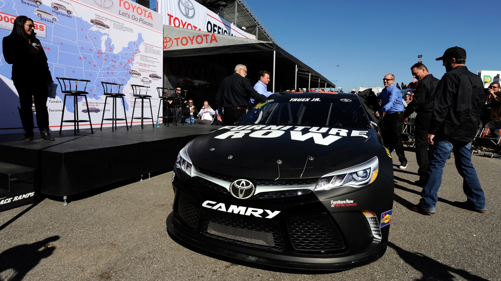 Furniture Row Racing Switches To Toyota For 2016