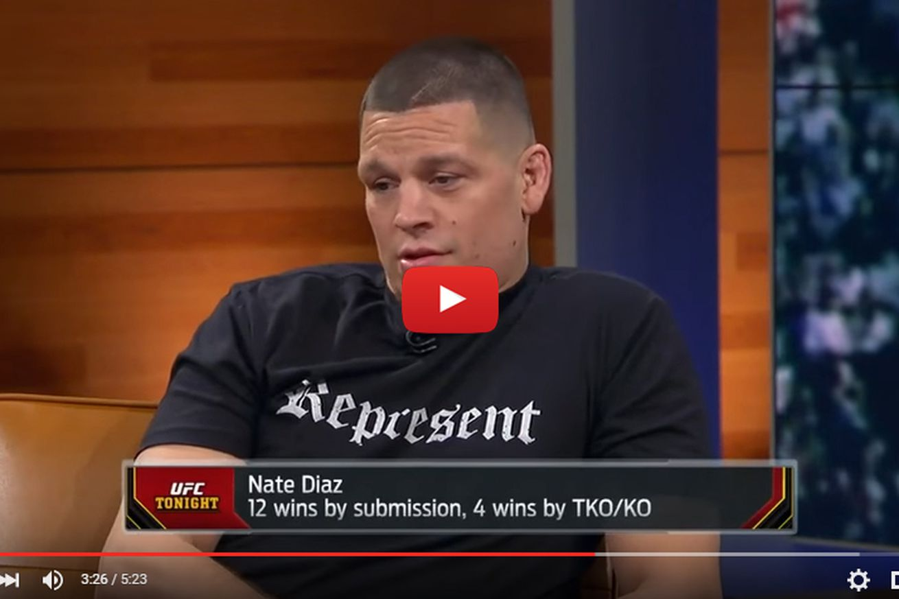 community news, Video: Nate Diaz wants Conor McGregor rematch at 155, calls UFC title a fairy tale