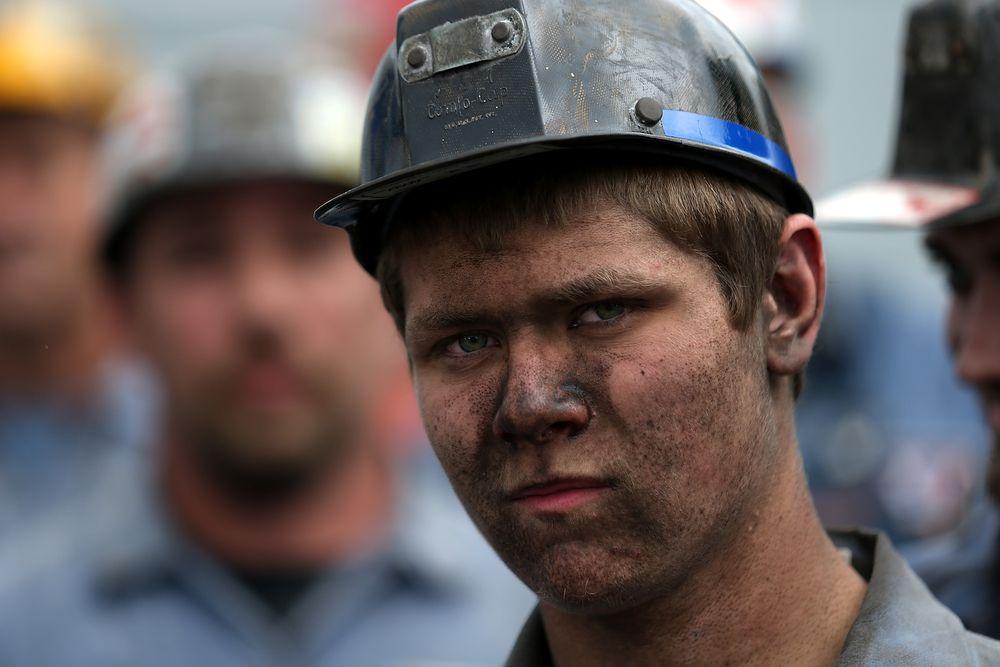 ohio coal miner