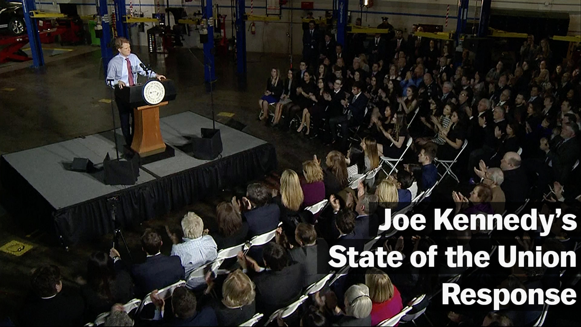 Rep Joe Kennedy Delivered The Democratic Response To Trumps State