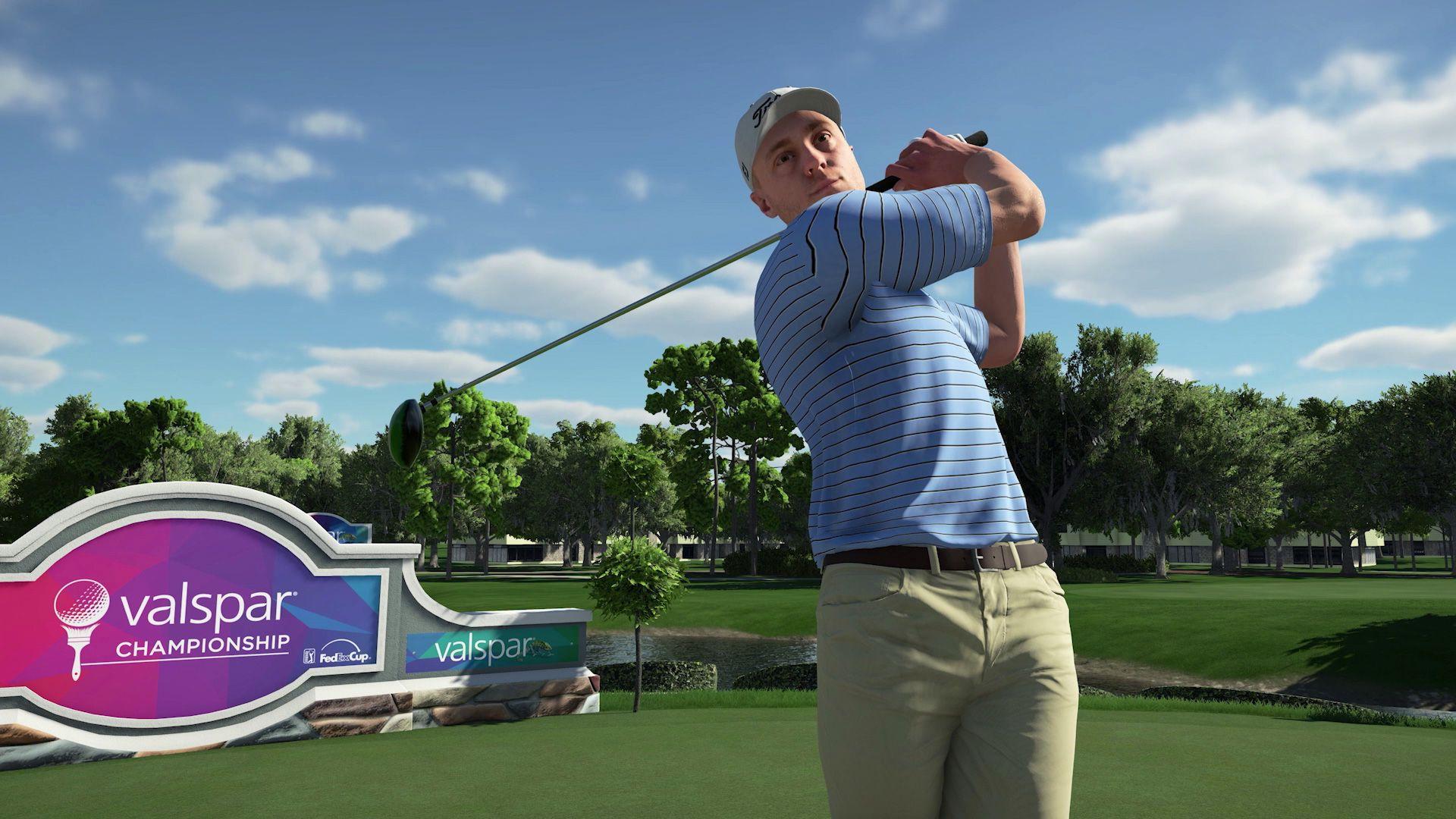 PGA Tour 2K21 trailer reveals August release date - Polygon