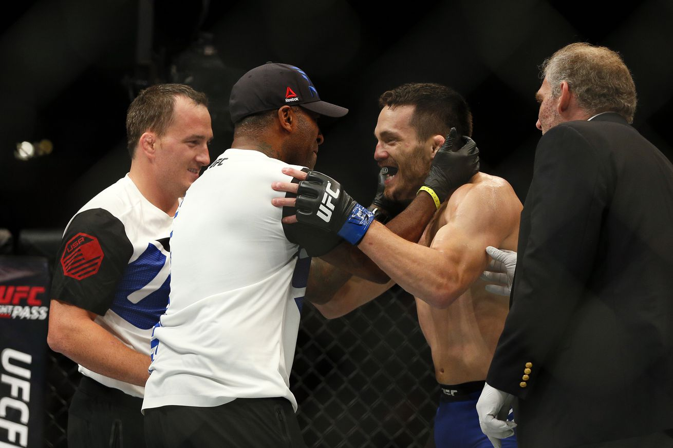 community news, Dana White: We had cut Jake Ellenberger, but he promised to deliver if given another shot at UFC 201