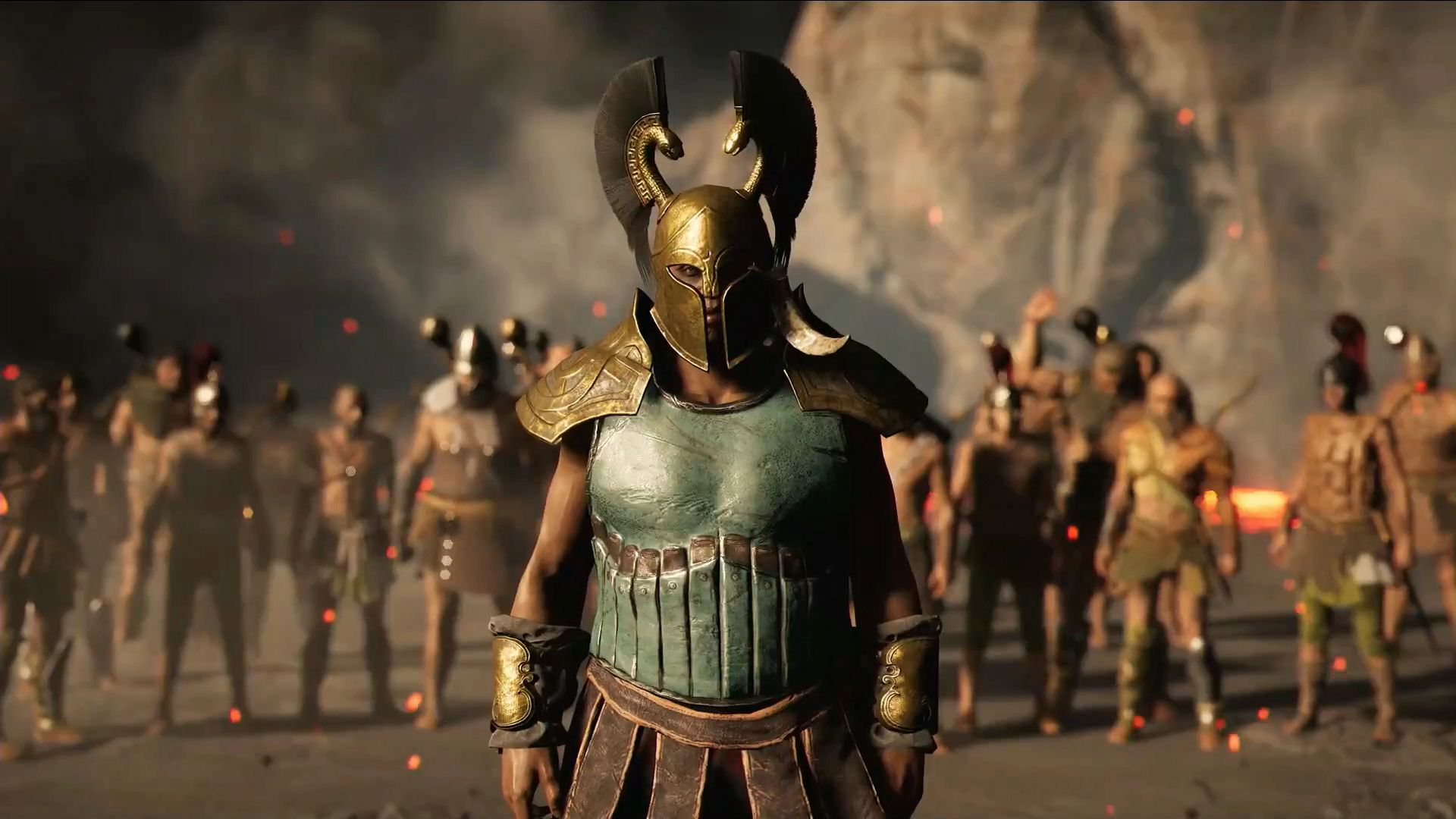 Assassin S Creed Odyssey Gameplay Trailer Debuts At E3 2018 Polygon