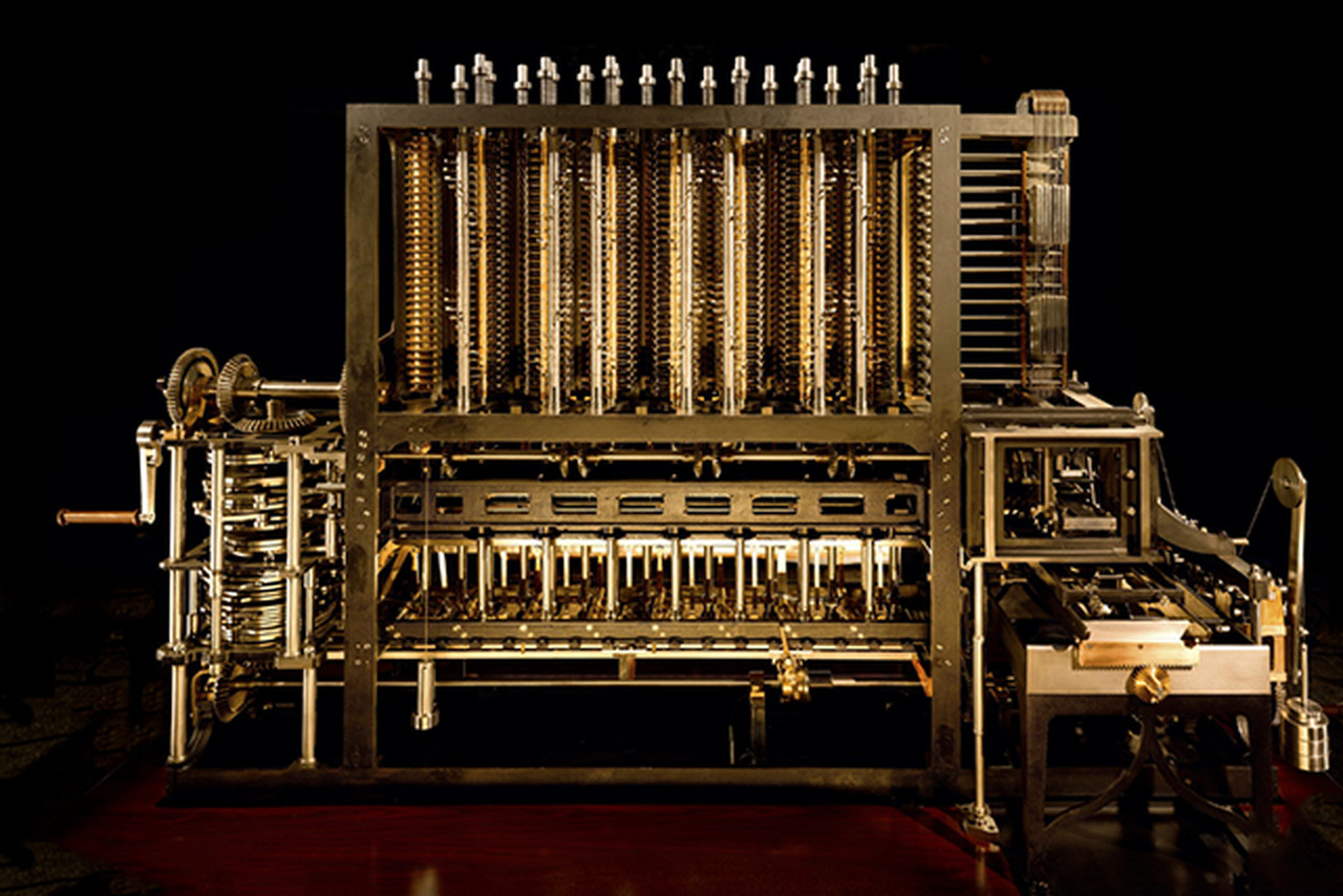 charles babbages difference engine captured in gigapixel