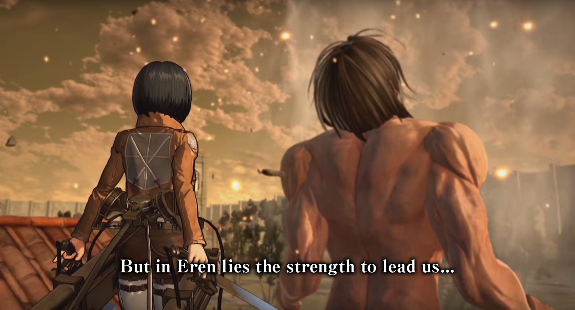 Watch the new trailer for Attack on Titan