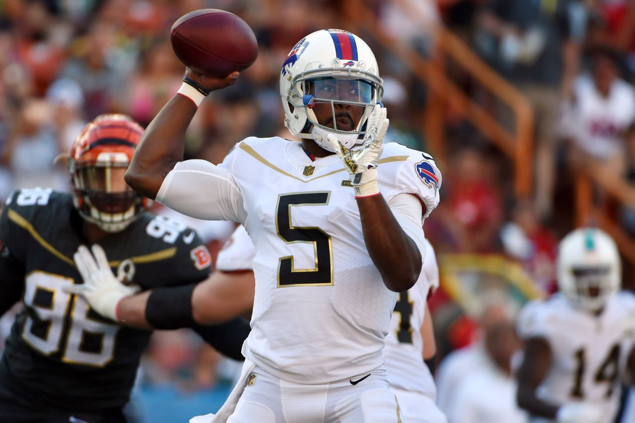 Tyrod Taylor criticism has picked up the pace of late