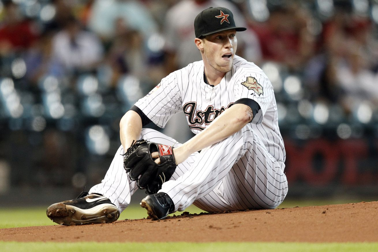 Early burst costs Perez, Rangers in 5-0 loss to Astros