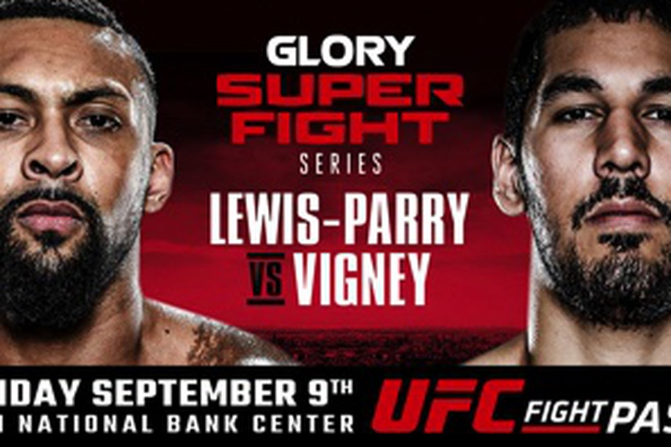community news, Chi Lewis Parry vs Xavier Vigny added to GLORY 33 SuperFight Series