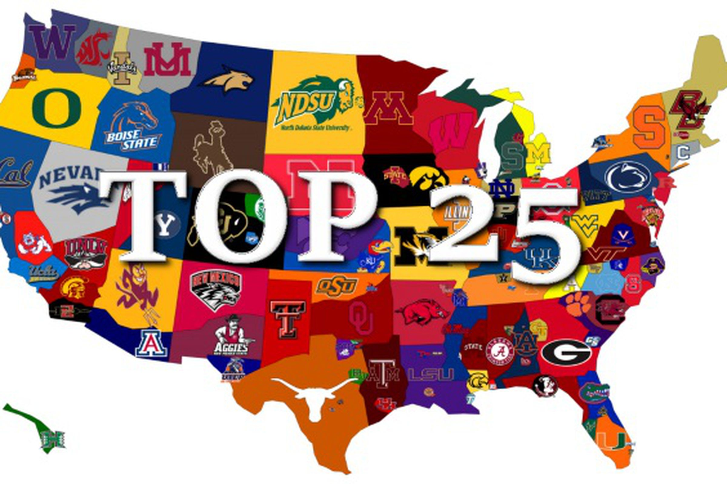 espn college top 25 espn ncaa football standings
