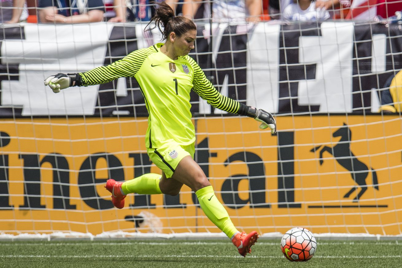 Hope Solo Suspended for Calling Soccer Opponents 'Cowards' at Rio Olympics