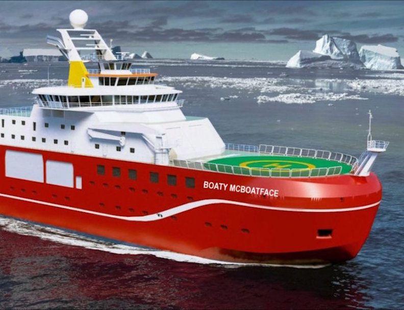 boaty mcboatface correct