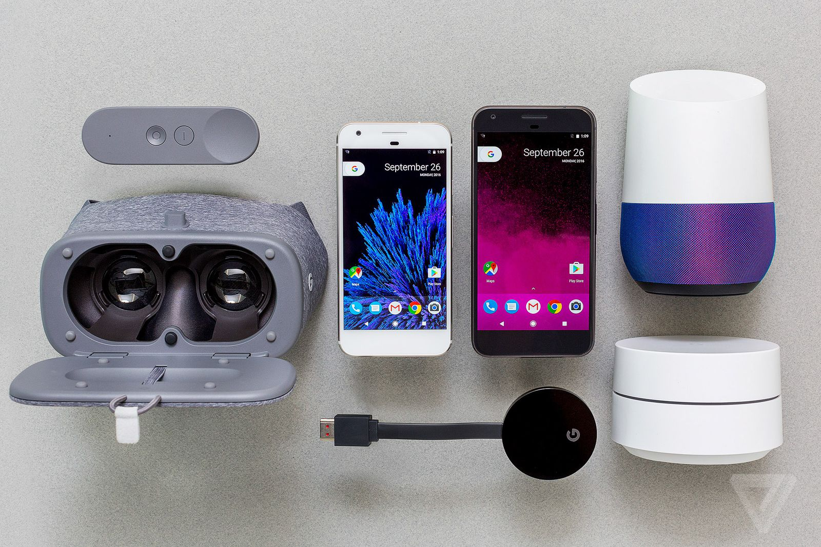 The Google Phone Central Distribution Device Manages Phones Internet Audio Video 12