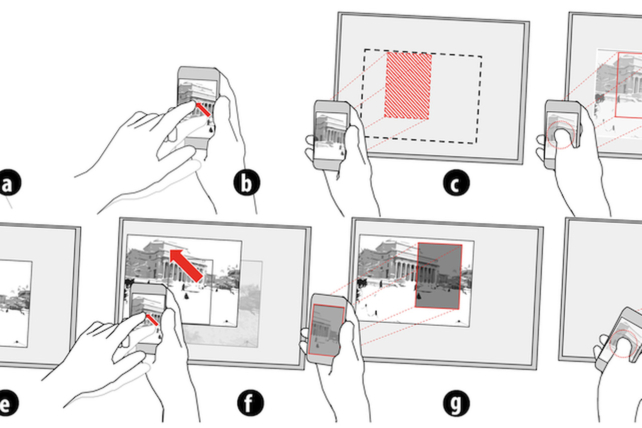 u0026 39 virtual projection u0026 39  blends ar and motion tracking technique for remote control screen sharing