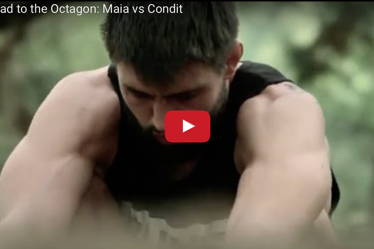 UFC Road to the Octagon video replay for Demian Maia vs Carlos Condit at UFC on FOX 21