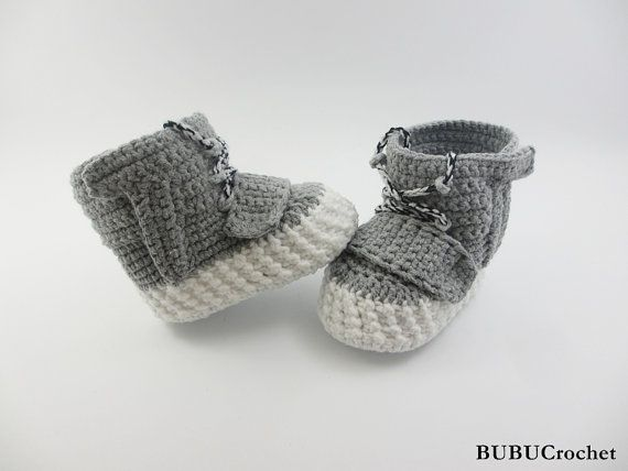 Crochet Yeezy : Who Needs Baby Yeezys When You Have Crocheted Yeezy-Style Booties from ...