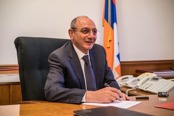 Nagorno-Karabakh Republic President Bako Sahakyan.