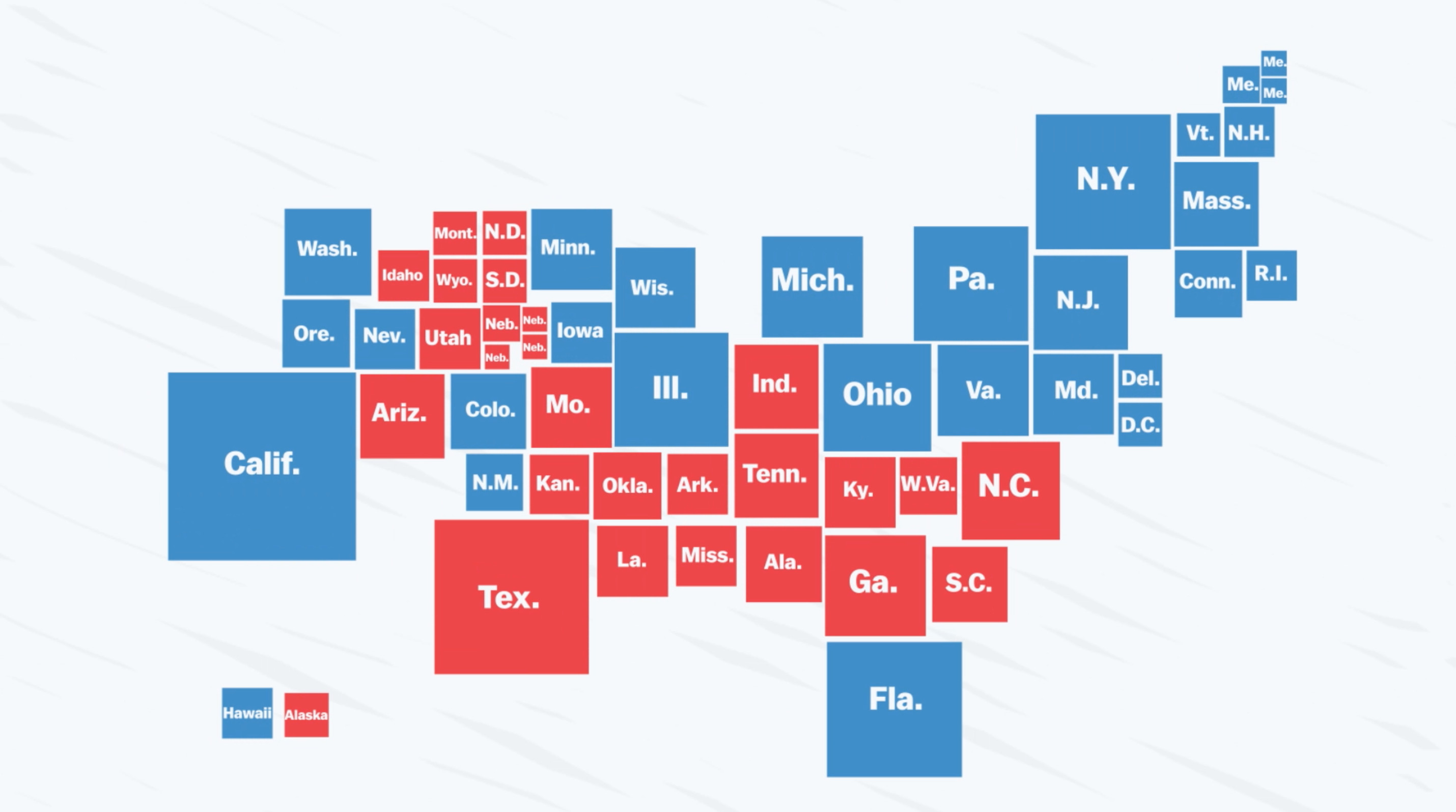 The Bad Map We See Every Presidential Election  Vox