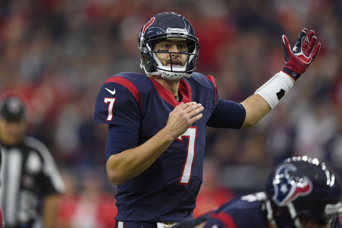 Brian Hoyer No Longer an Option for the Jets