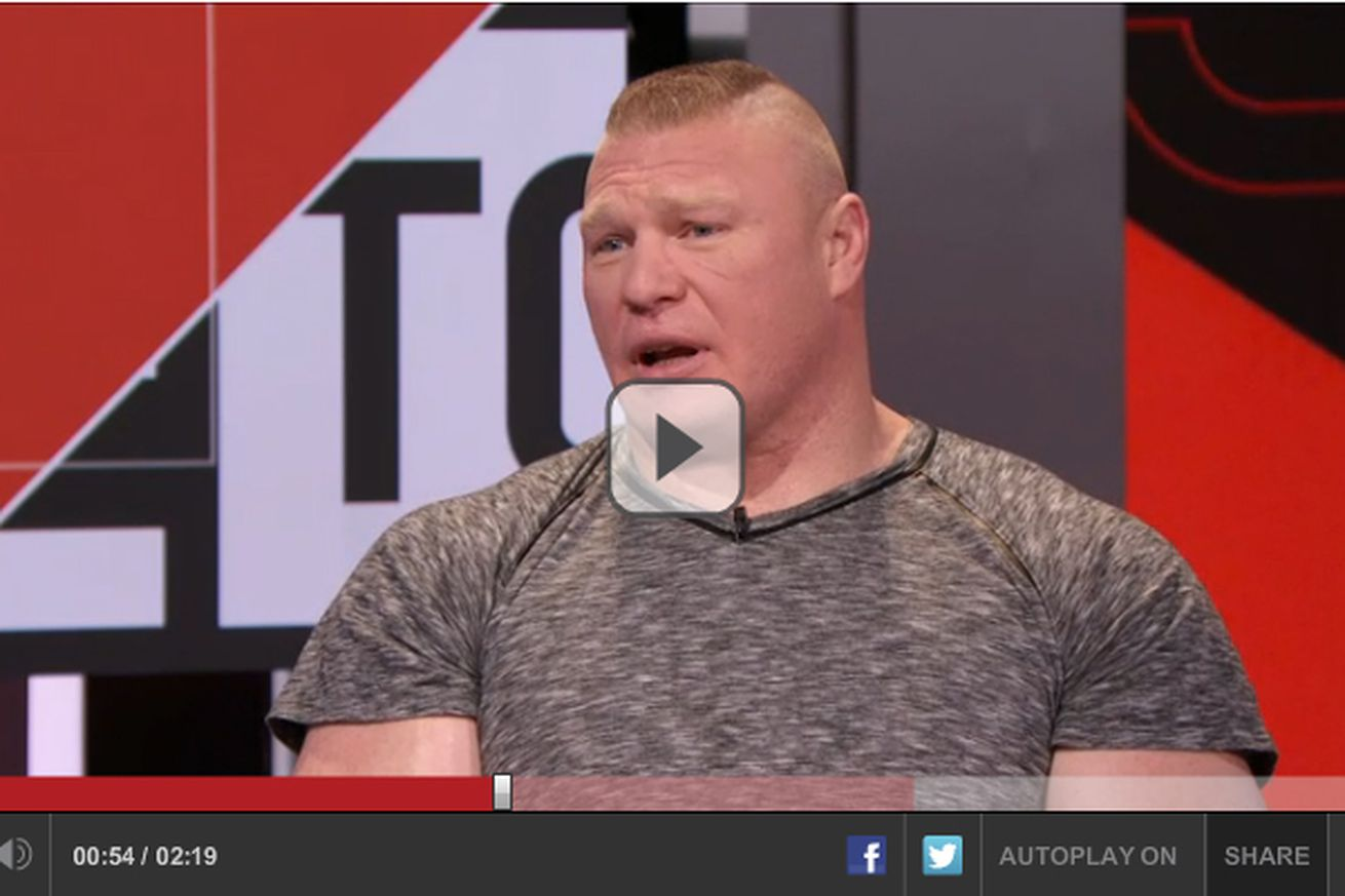 community news, Not sentimental Brock Lesnar lost his UFC title    but doesnt care because hes filthy rich